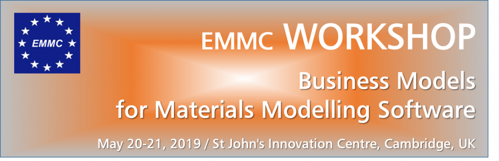 EMMC Workshop on Business Models for Materials Modelling Software
