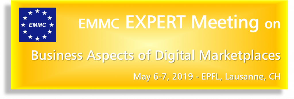 EMMC Expert Meeting on Business Aspects of Digital Marketplaces