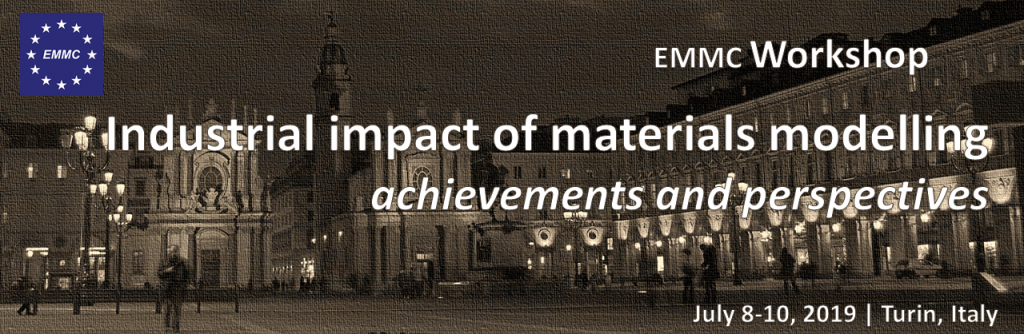 EMMC-CSA Workshop on Industrial impact of materials modelling – achievements and perspectives