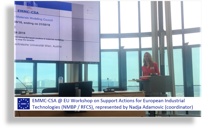 EU WORKSHOP ON SUPPORT ACTIONS FOR EUROPEAN INDUSTRIAL TECHNOLOGIES (NMBP / RFCS)