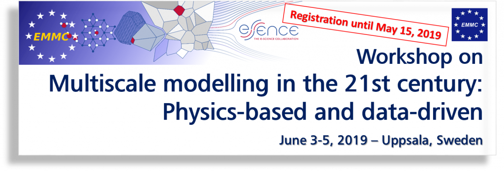 EMMC Workshop within the 2019 EMMC-eSSENCE Meeting